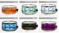 "RCI Super Duty 1/4"" 7x12 Clear Starlite Snare Drum (RCISL-7x12-CS)"
